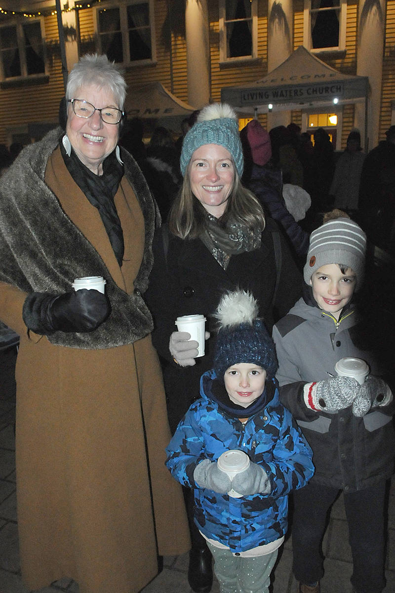 VIDEO: Fort Langley Christmas tree lighting an emotional experience for volunteer
