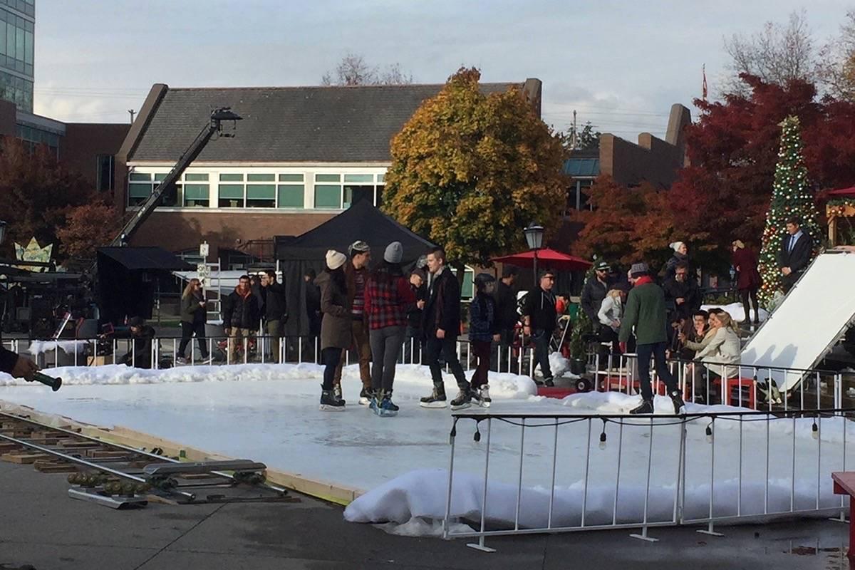 Hallmark holiday flicks highlight Langley