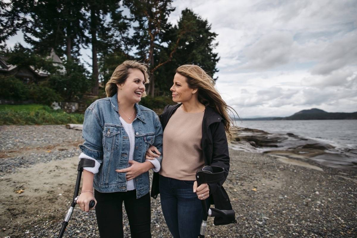 Seventeen-year-old Michelle Reilly and her mother Carla are optimistic the BC Cancer care team will continue to provide them with treatment options for Michelle's Glioblastoma Multiforme.
