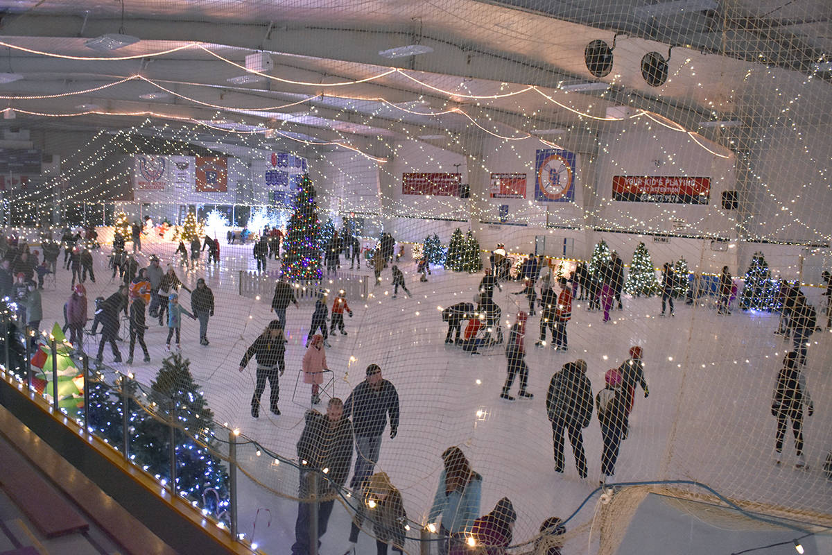 The Winter Ice Palace at Cloverdale Arena is always a popular activity. (Black Press file photo)