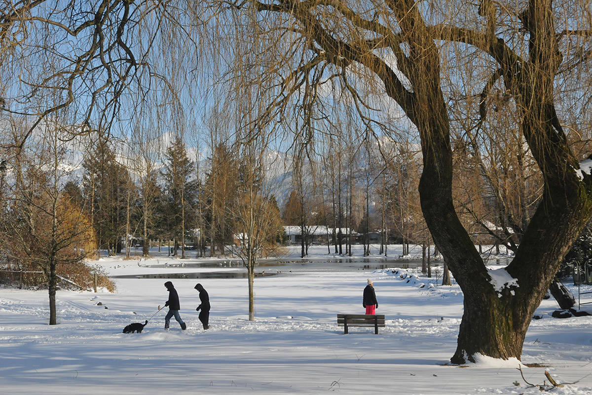 UPDATE: Up to 10 centimetres of snow could fall on the Fraser Valley