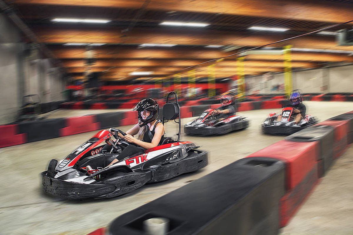 Fast Track Indoor Karting is hosting the fifth annual Speed for Need Event at its indoor Langley track. (Andrew Holliday Photography)