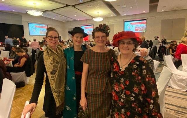 PHOTOS: Popular Christmas tea fundraiser raised nearly $48,000 for Langley Christmas Bureau