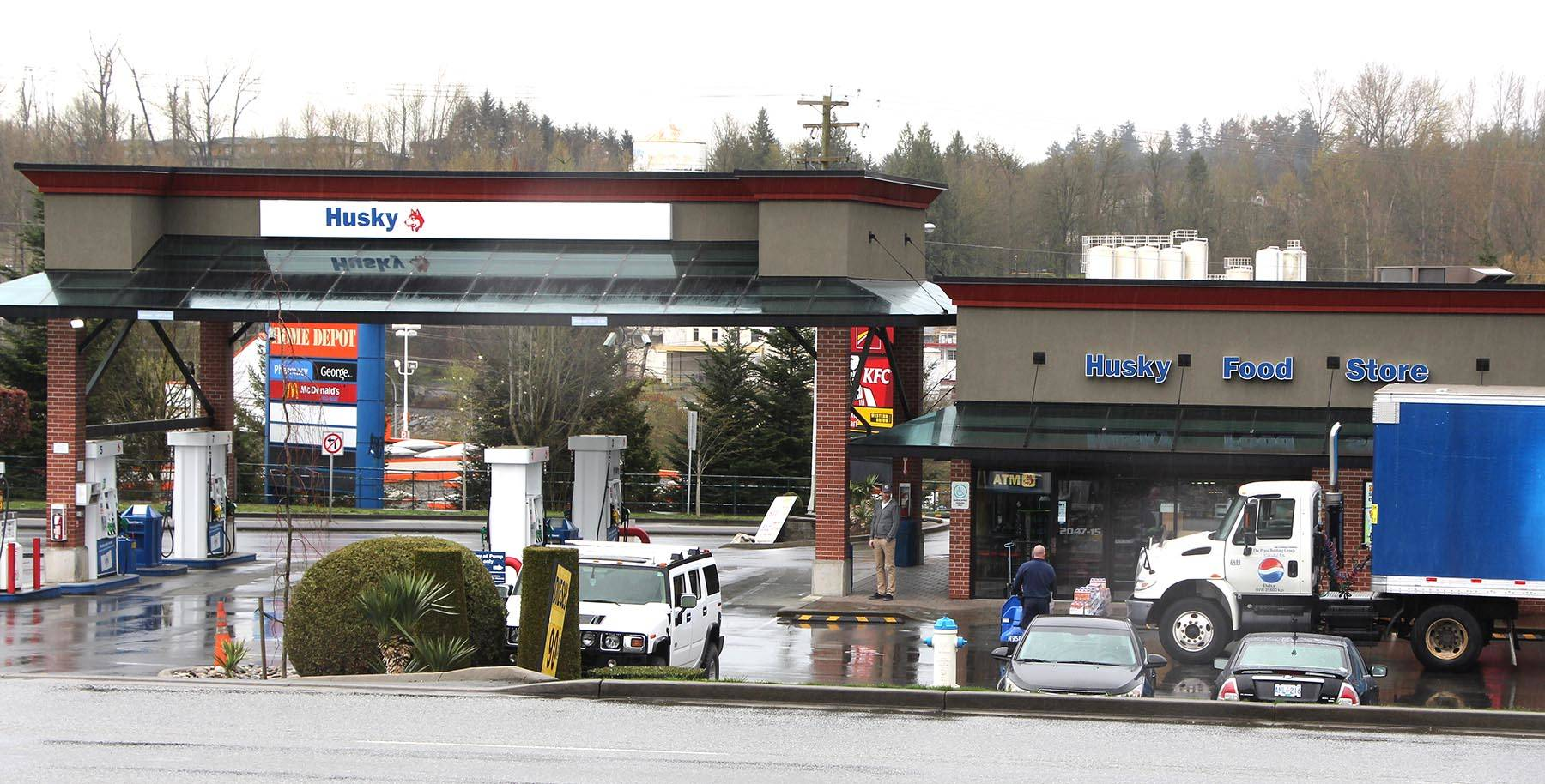 A Husky gas station in Abbotsford, B.C. (Google Street View image)