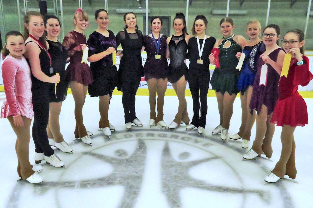 Head coach of the Aldergrove Skating Club Colleen Laferriere expressed immense pride after seeing many of the club's athletes score their personal bests at the Jingle Blades competition on Nov. 22 to 24. (Colleen Laferriere/Special to the Aldergrove Star)