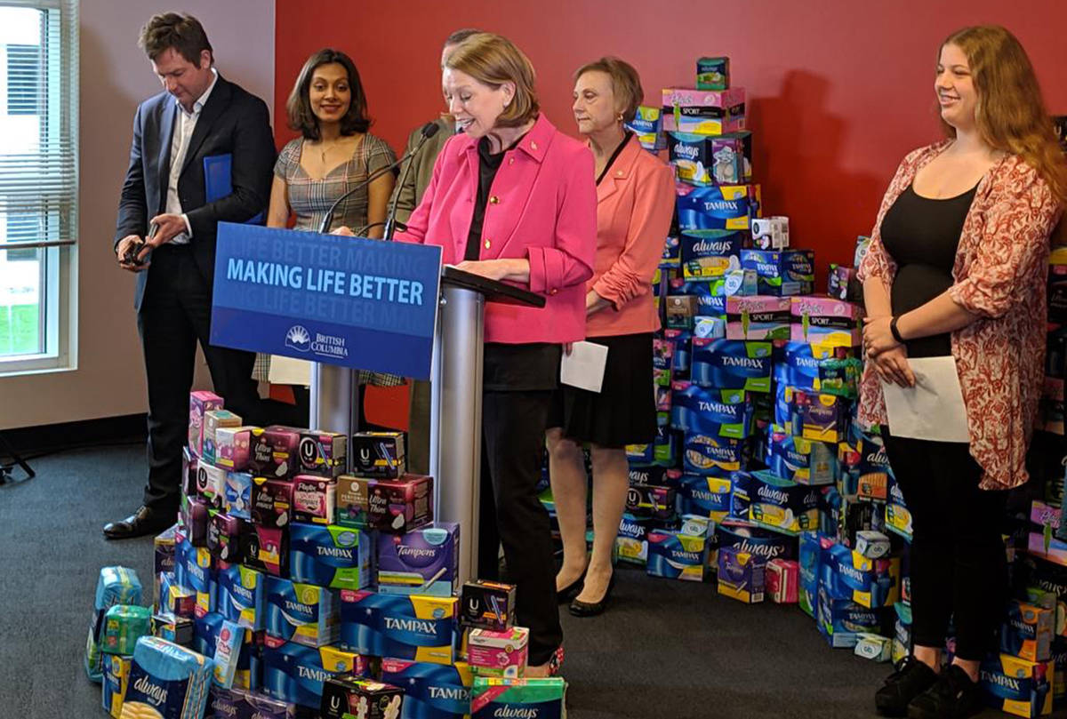 University of the Fraser Valley union demands free menstrual products for staff, students
