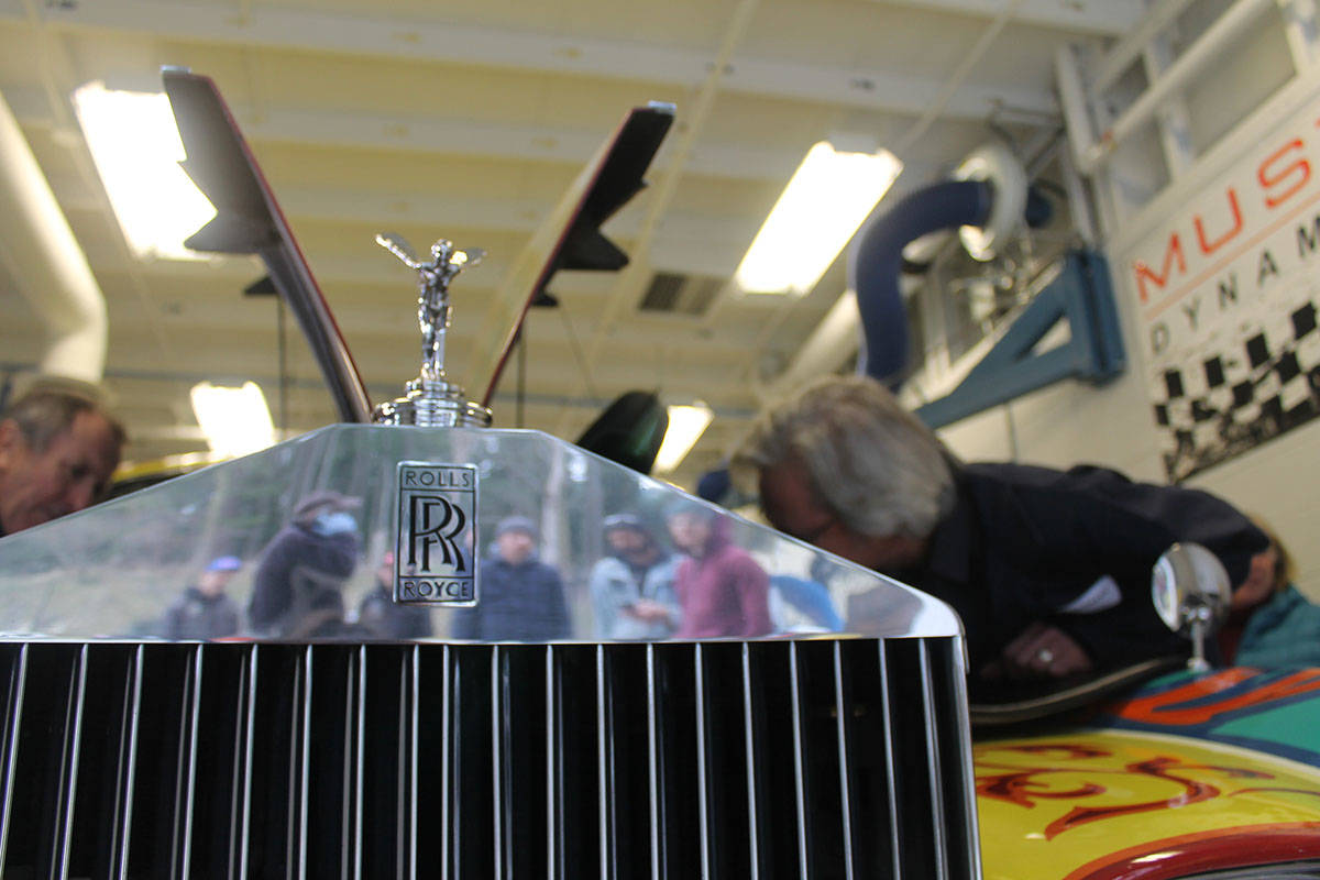 VIDEO: John Lennon's iconic Rolls Royce rolls into Vancouver Island college for checkup