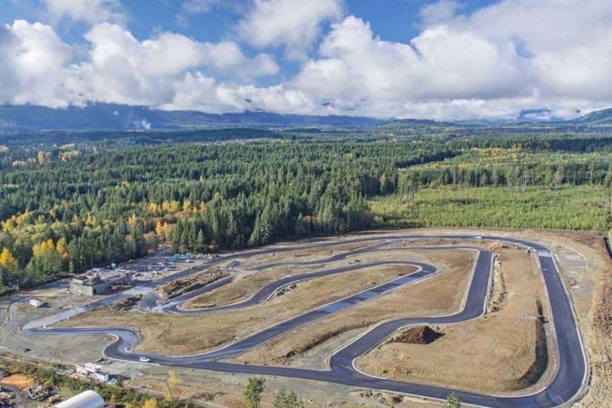 a successful $60-million judgment against the Municipality of North Cowichan over denying zoning for a new expansion at the Vancouver Island Motorsport Circuit would have staggering repercussions in the municipality, according to a staff report. (File photo)