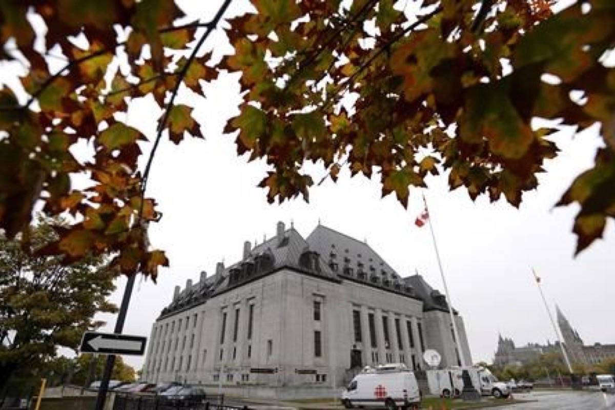 The Supreme Court of Canada will decide on whether the federal government can impose a carbon tax on the provinces. (Photo by THE CANADIAN PRESS)                                The Supreme Court of Canada is expected to clarify the limits of the nation's rape-shield law. (Photo by THE CANADIAN PRESS)