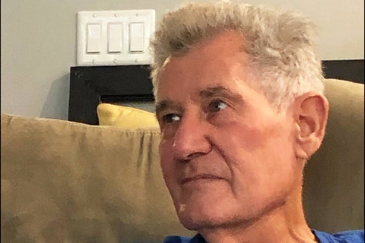 Tjeerd 'Ted' Vanderveen, who suffers from dementia, has been missing since Nov. 28. (Contributed)