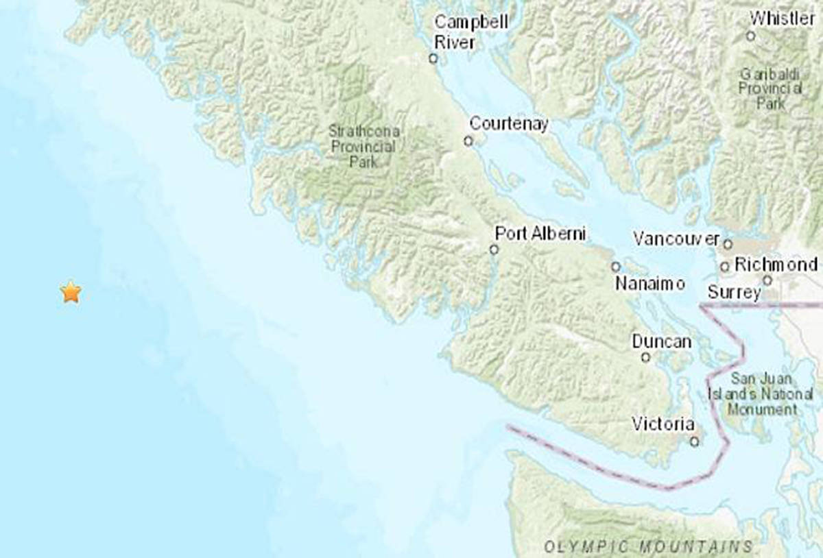 A megathrust earthquake hit South Vancouver Island 320 years ago on Jan. 26, 1700. While scientists encourage preparation, they say the 320-year mark doesn't mean another earthquake is necessarily imminent. (Black Press File Photo)