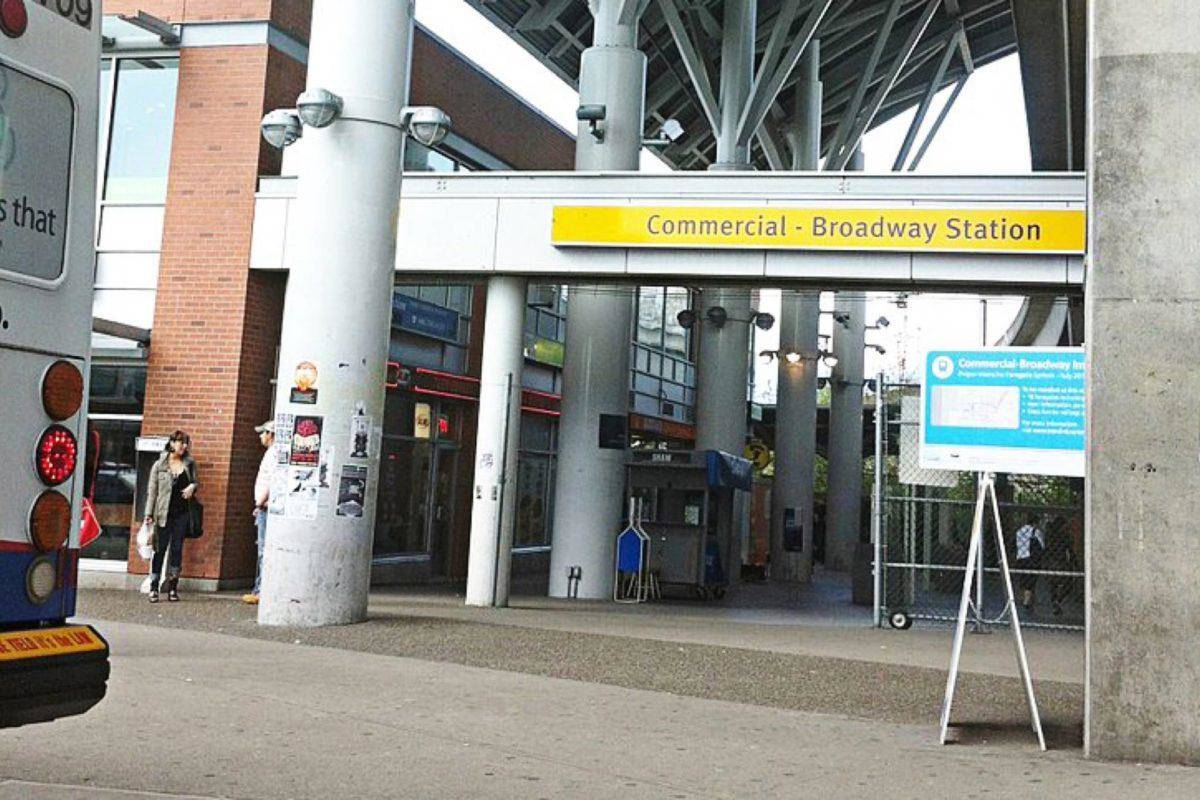 Commercial-Broadway SkyTrain Station (Wikimedia Commons)