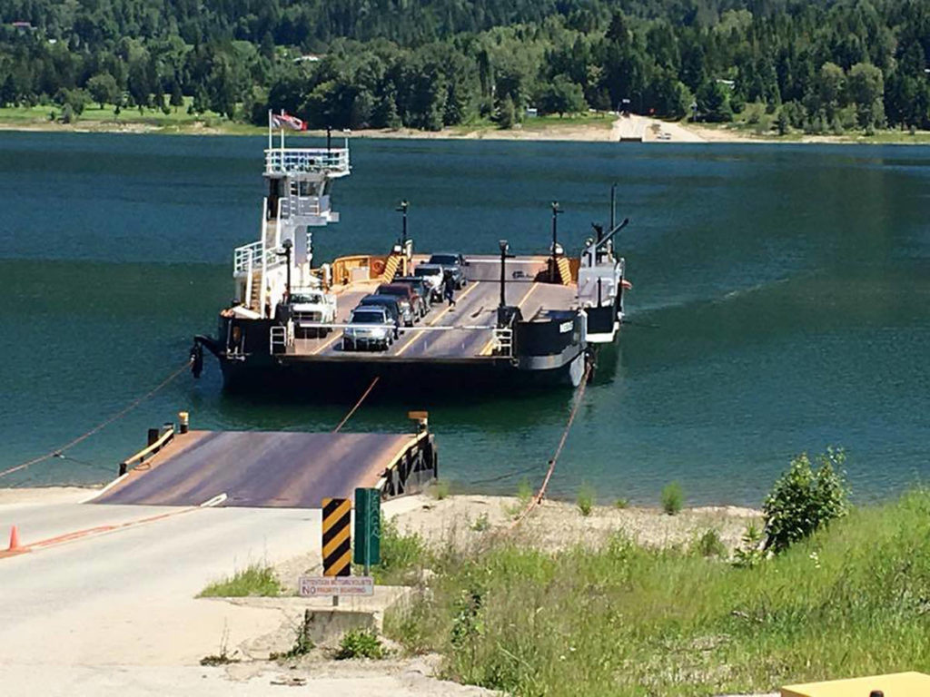 Needles Ferry. (Photo by WaterBridge Ferries)