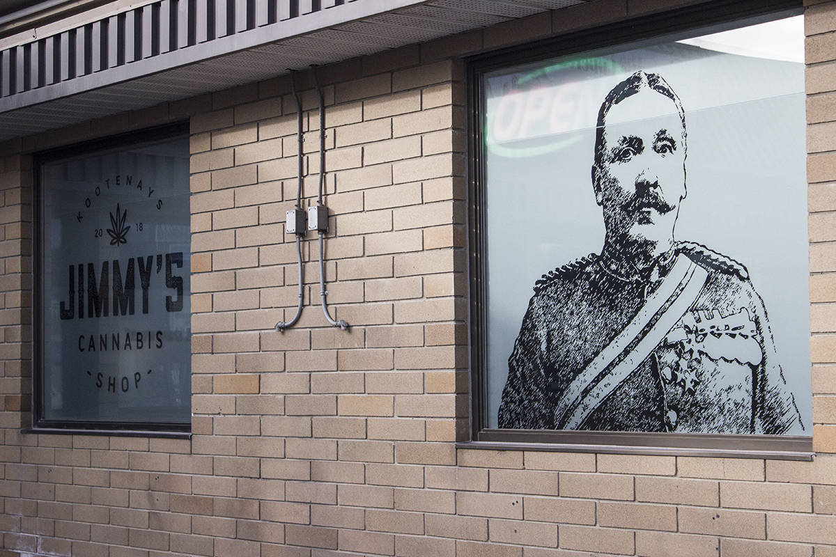 'Honest mistake:' RCMP says B.C. cannabis shop can keep image of legendary Mountie