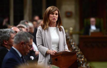 Interim Conservative leader Rona Ambrose asks a question during question period in the House of Commons on Parliament Hill in Ottawa on Tuesday, May 16, 2017. THE CANADIAN PRESS/Sean Kilpatrick