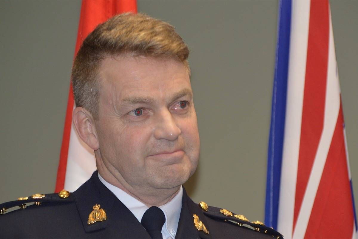 Chief Superintendent Brian Edwards, new officer in charge of the Surrey RCMP, will take over on Jan. 6. (Photo: Tom Zytaruk)