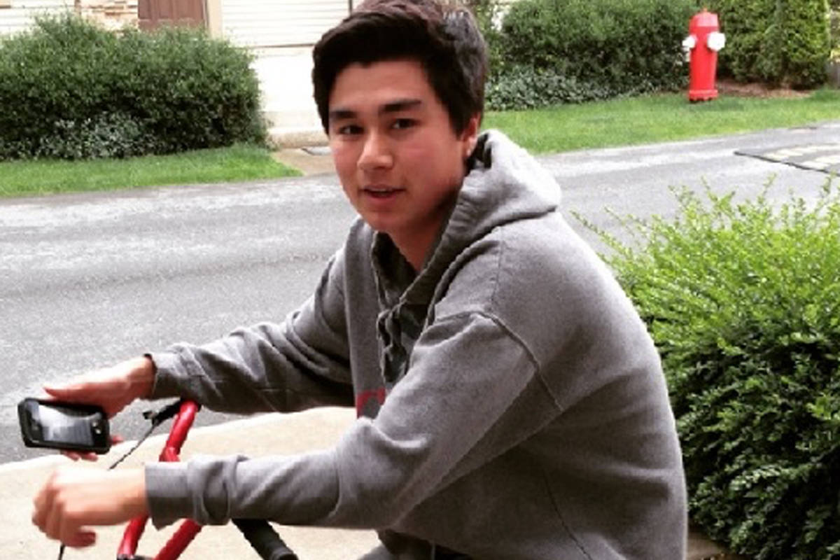 Dario Bartoli, 15, died on Dec. 13, 2014 after being attacked in Bakerview Park . (RCMP handout photo)