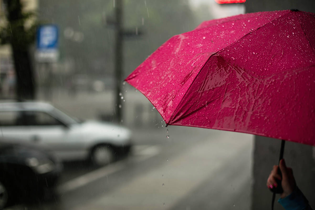 Periods of rain are expected Monday, and about 15 to 22 millimetres of rainfall is expected Tuesday, according to Environment Canada.