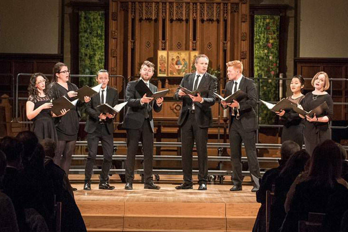 musica intima, Vancouver's a capella group, performs holiday concert Sing Lullaby