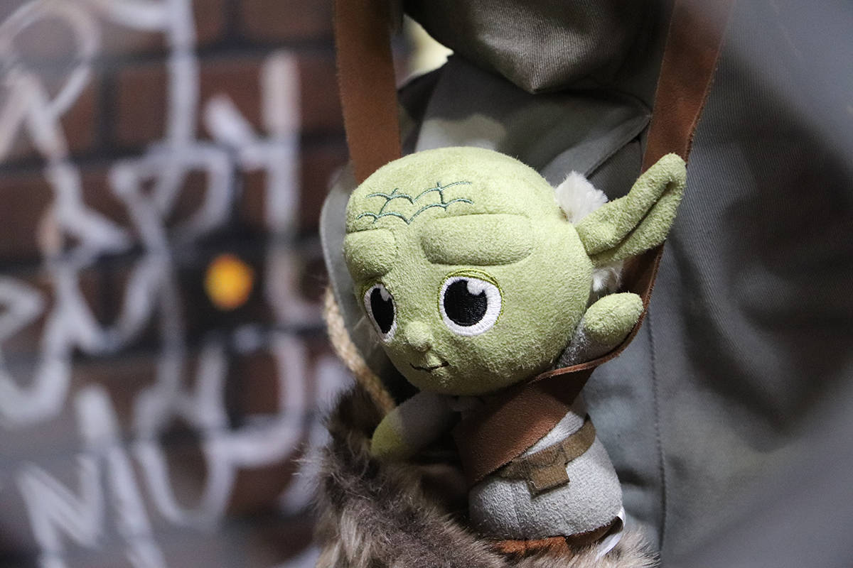 This plush Yoda is the closest things to Baby Yoda at Toy Traders. The hottest toy of the season won't be available until the New Year. (Joti Grewal - Langley Advance Times)