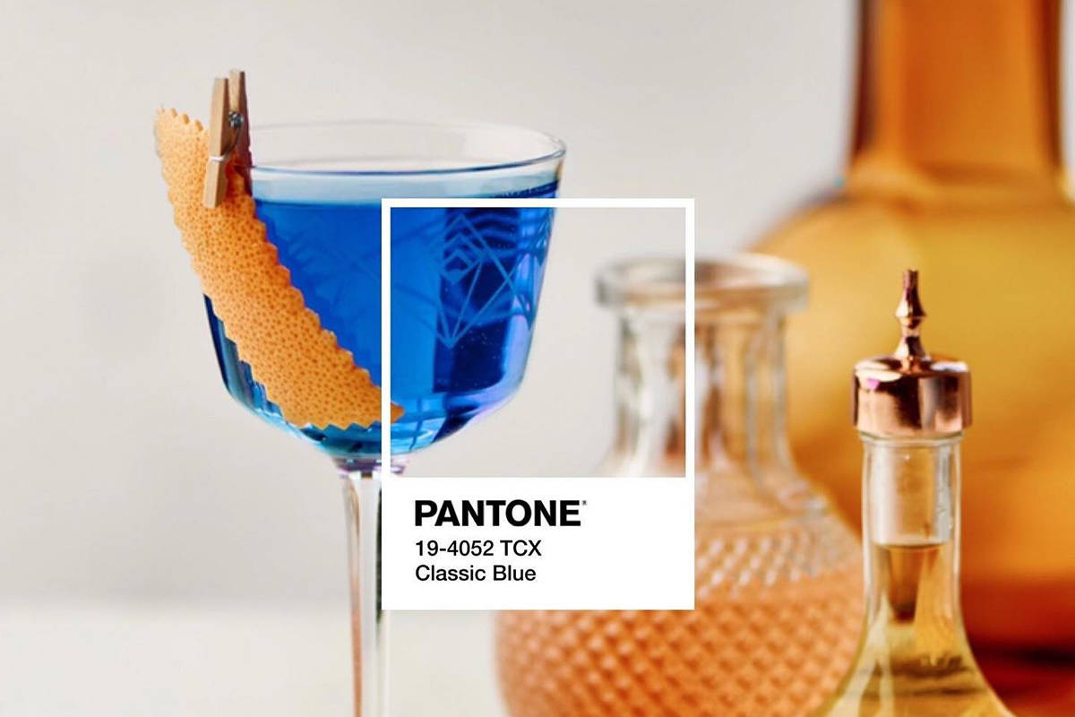 Victoria Distillers have crafted the official cocktail for Pantone's colour of the year. (Facebook/ Empress 1908 Gin)