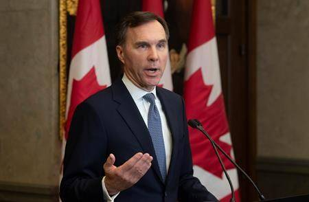 Provincial finance ministers divided on top priority for meeting with Morneau