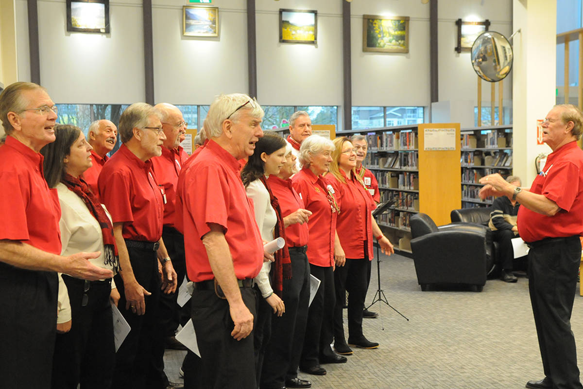 VIDEO: First Capital gets loud in a Langley library