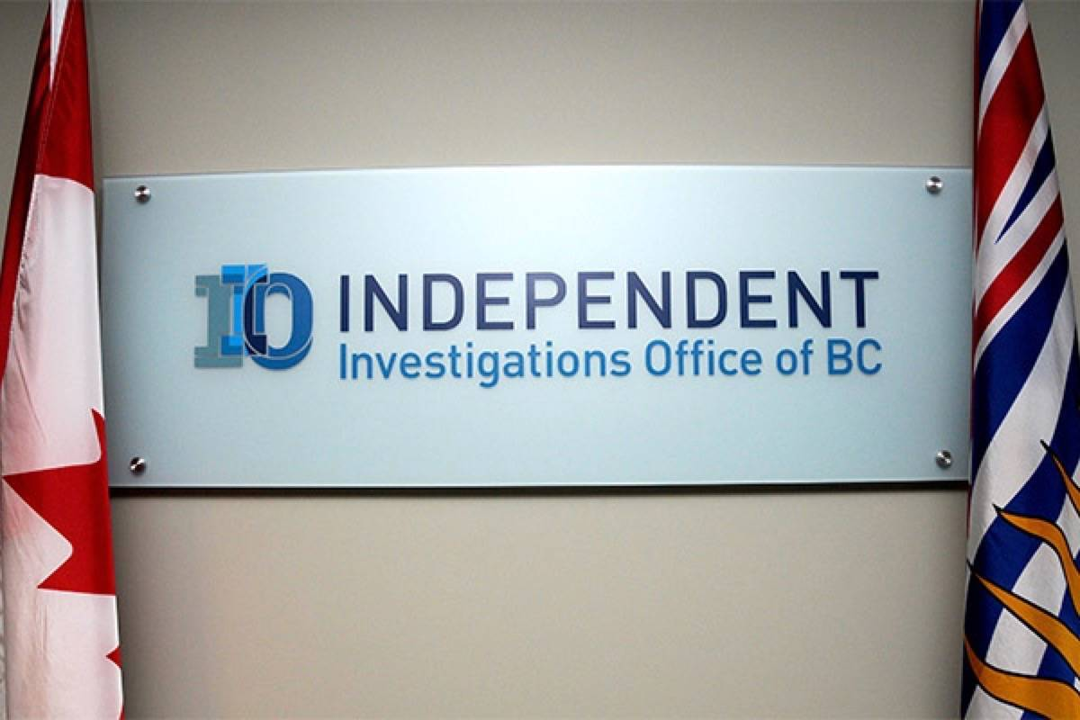 The Independent Investigations Office of B.C. (File photo)