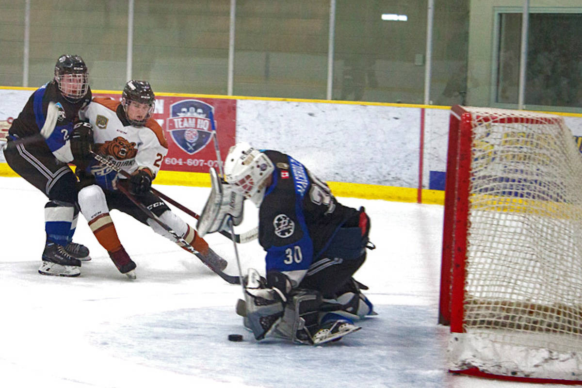 The Kodiaks managed an overtime win against the Abbotsford Pilots on Dec. 11 but have since fell with two consecutive losses. (Kurt Langmann/Special to the Aldergrove Star)