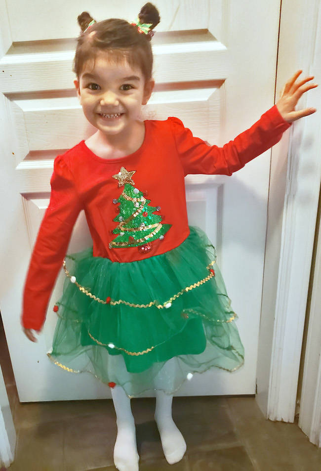 'Superhero' five year old from Aldergrove combats fifth round of chemo this Christmas