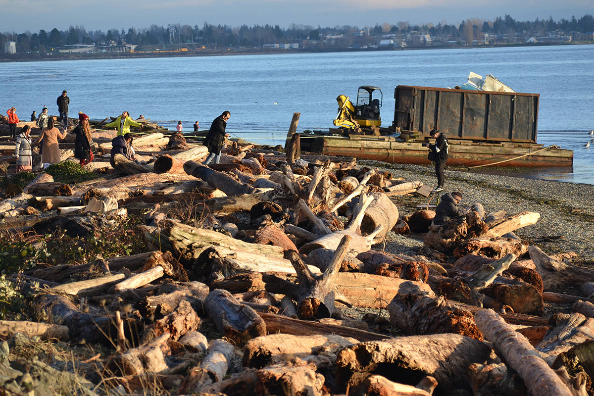 East Beach sustained significant damage after a violent windstorm Dec. 20. (Contributed file photo)