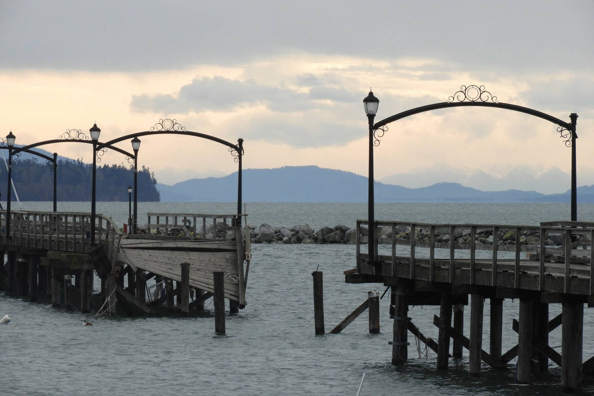 White Rock's storm-damaged pier, some business owners have said, turned out to be a tourist attraction. (Christy Fox file photo)