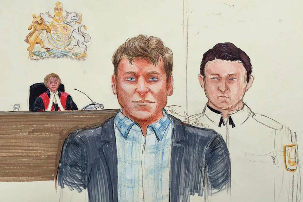 Andrew Berry is appealing his conviction for his daughters' murders. (THE CANADIAN PRESS/Felicity Don)