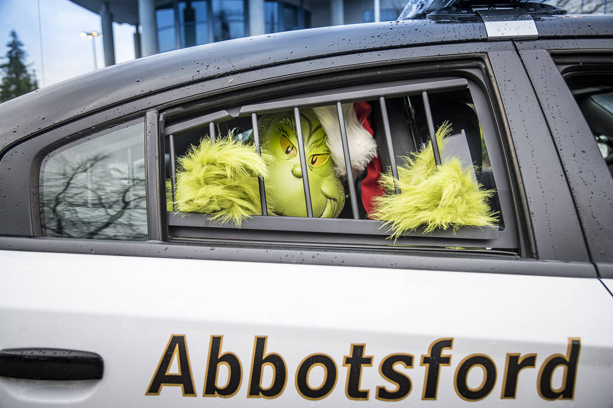 The Abbotsford Police Department is targeting property offenders with its Project Blitzen initiative. (Photo by Dale Klippenstein)