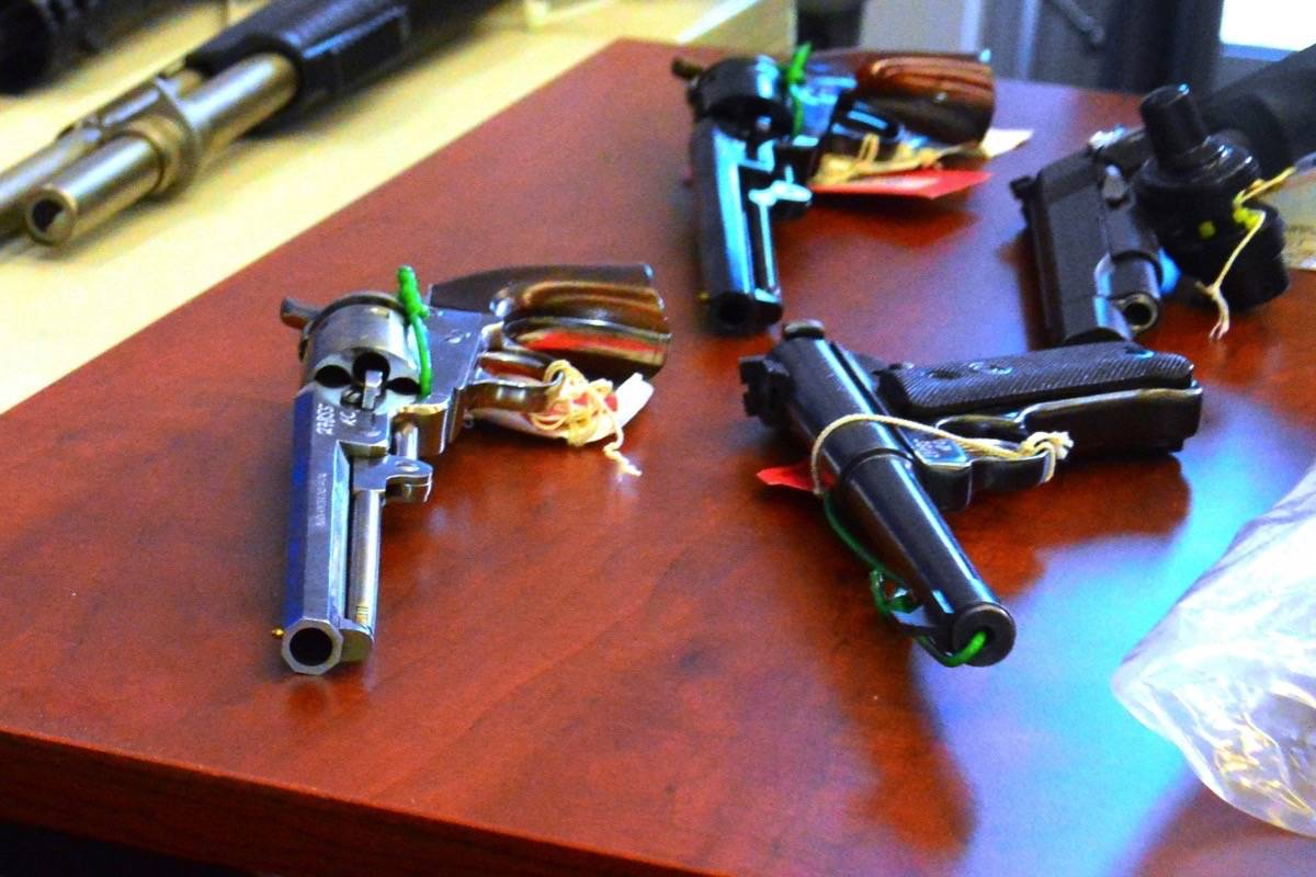 Four-fifths of British Columbians would support a handgun ban in their city. (Black Press Media file)