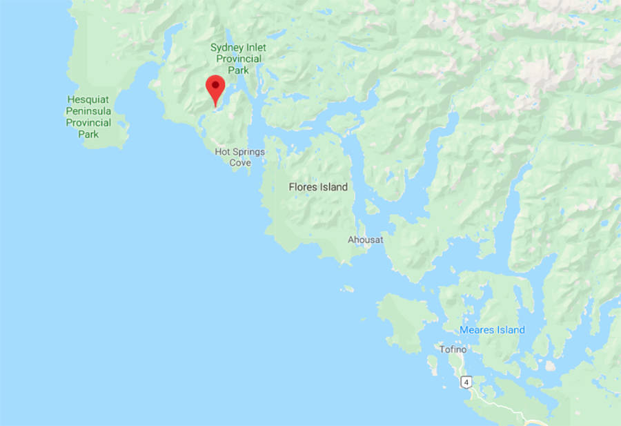 UPDATE: One confirmed dead after Courtenay-bound plane crashes north of Tofino