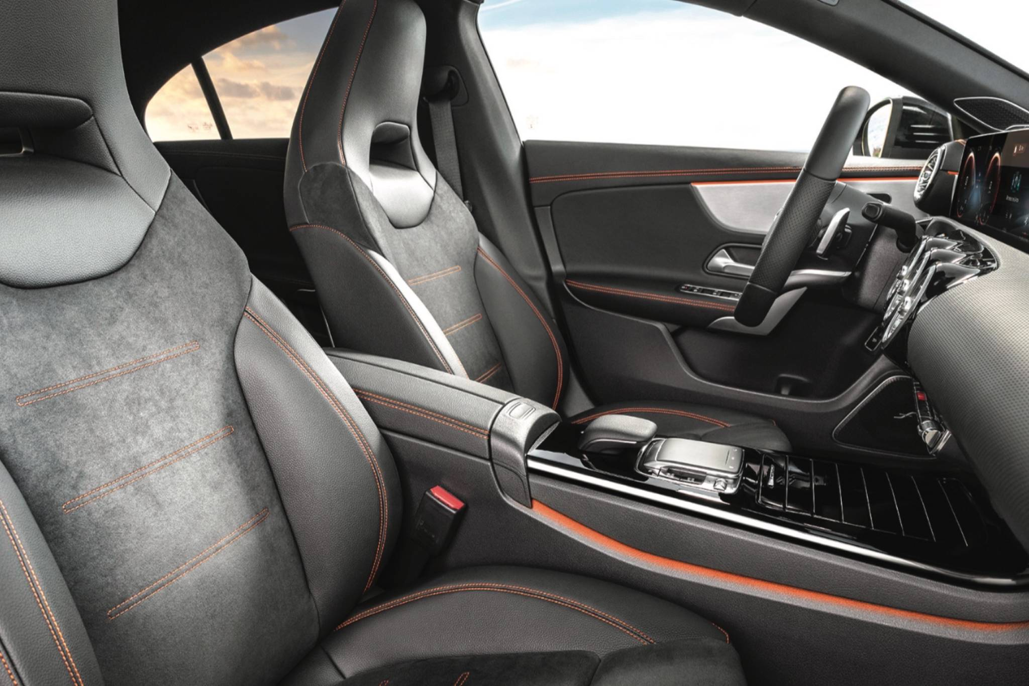 If there was any doubt that the previous CLA's interior was too basic, look at the upgrade for the 2020 model. Aside from a premium look and feel, the optional MBUX user interface adds top-of-the line infotainment to a more entry-level vehicle. Photo: Mercedes-Benz