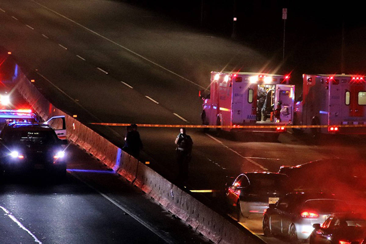 The police watchdog is investigating after a man died during an arrest in Coquitlam on Sunday, Dec. 22, 2019. (Shane MacKichan)