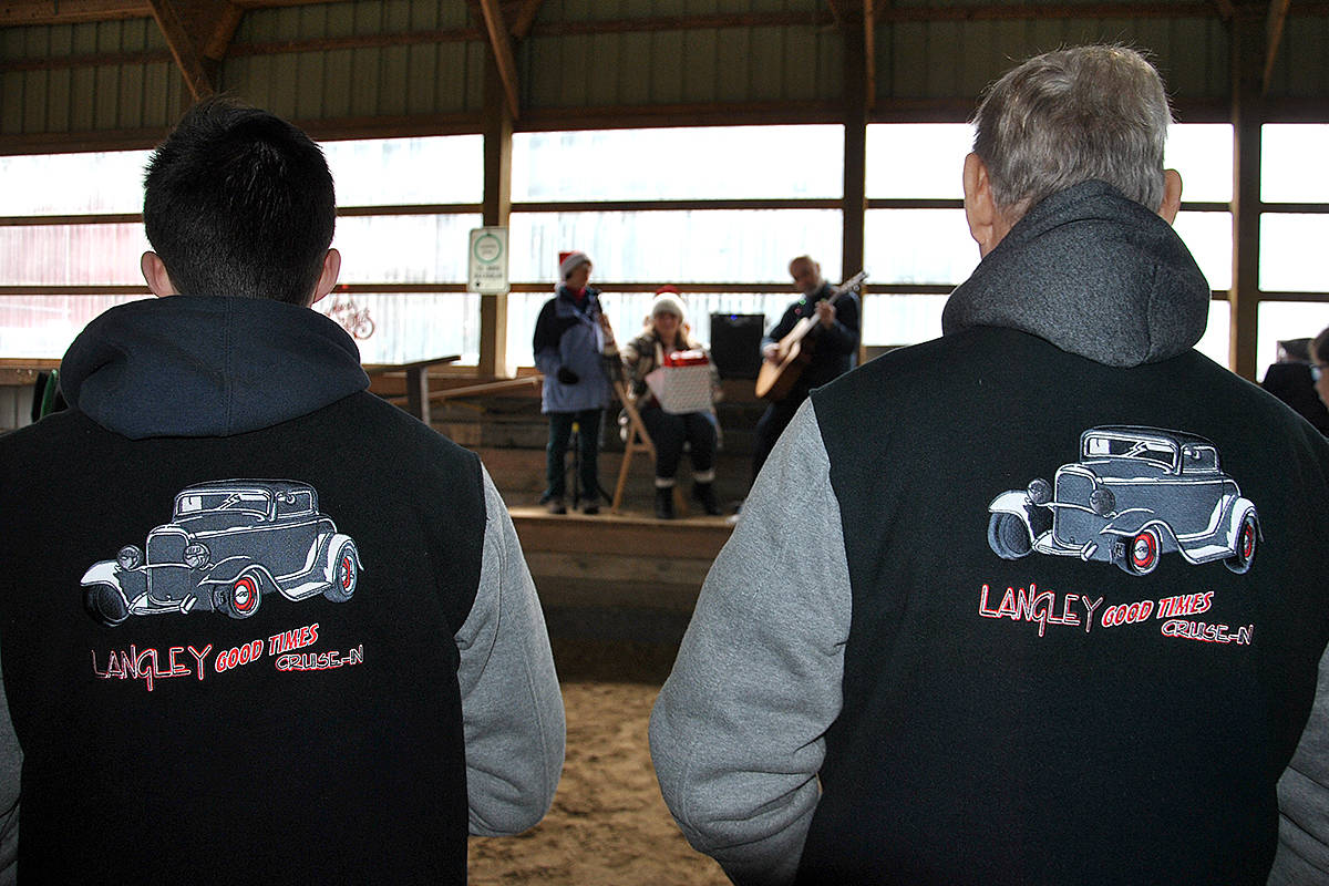 VIDEO: Horsepower generating aid for Langley equine therapy