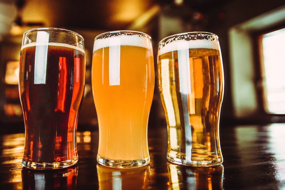 Figures show British Columbians spent less on food and alcohol in restaurants and bars in October. (Black Press Media file photo)