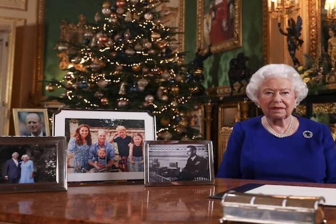 Queen's Christmas speech. Image: Instagram