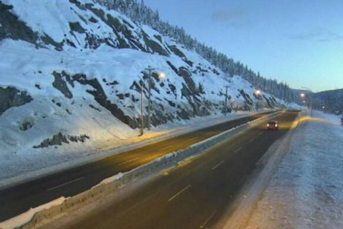Wind and flurries forecast for B.C. Interior highways