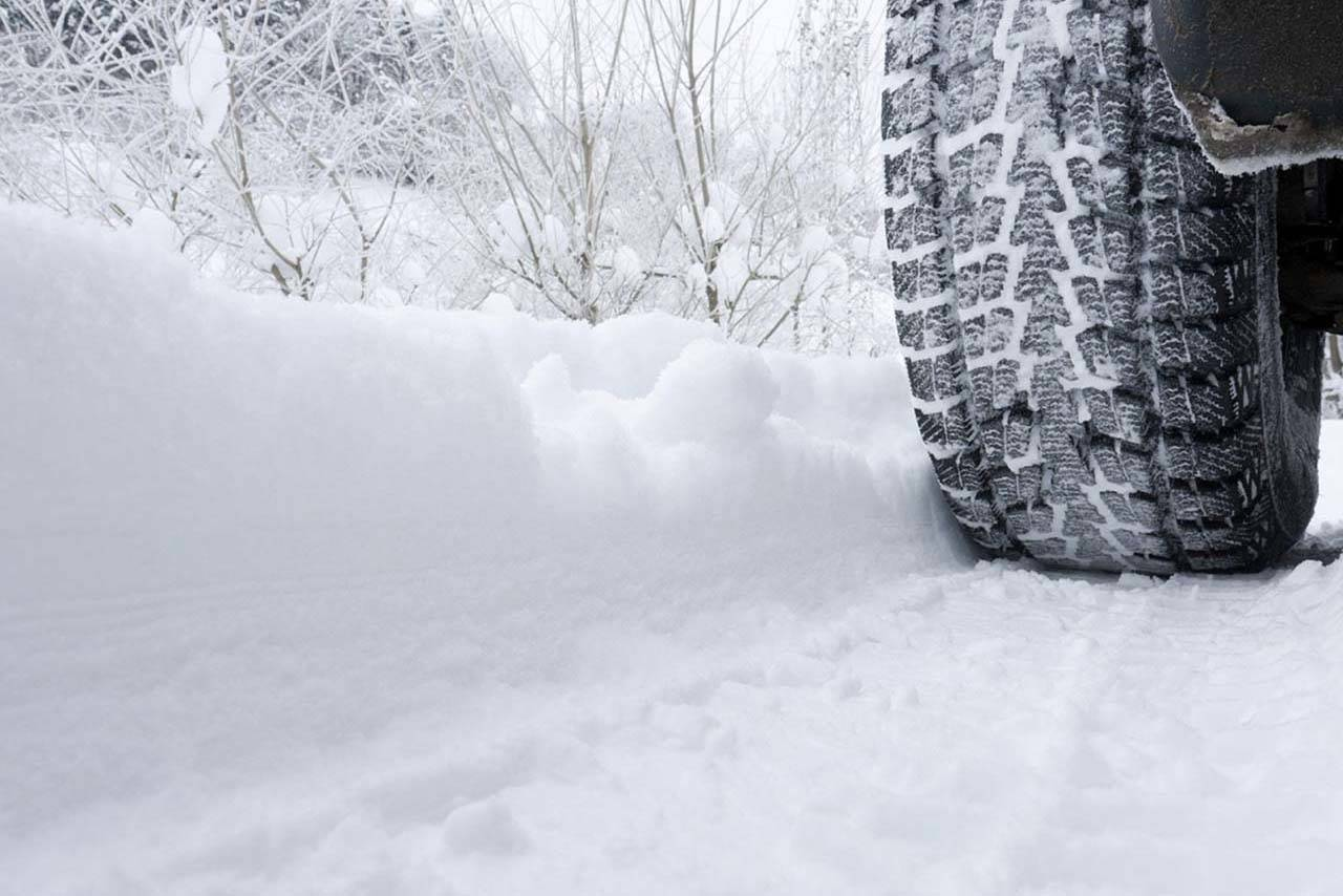 In B.C., winter tires are defined as those with either the Mountain Snowflake symbol or the Mud and Snow (M+S) symbol, according to the RCMP. (Langley Advance Times – files)