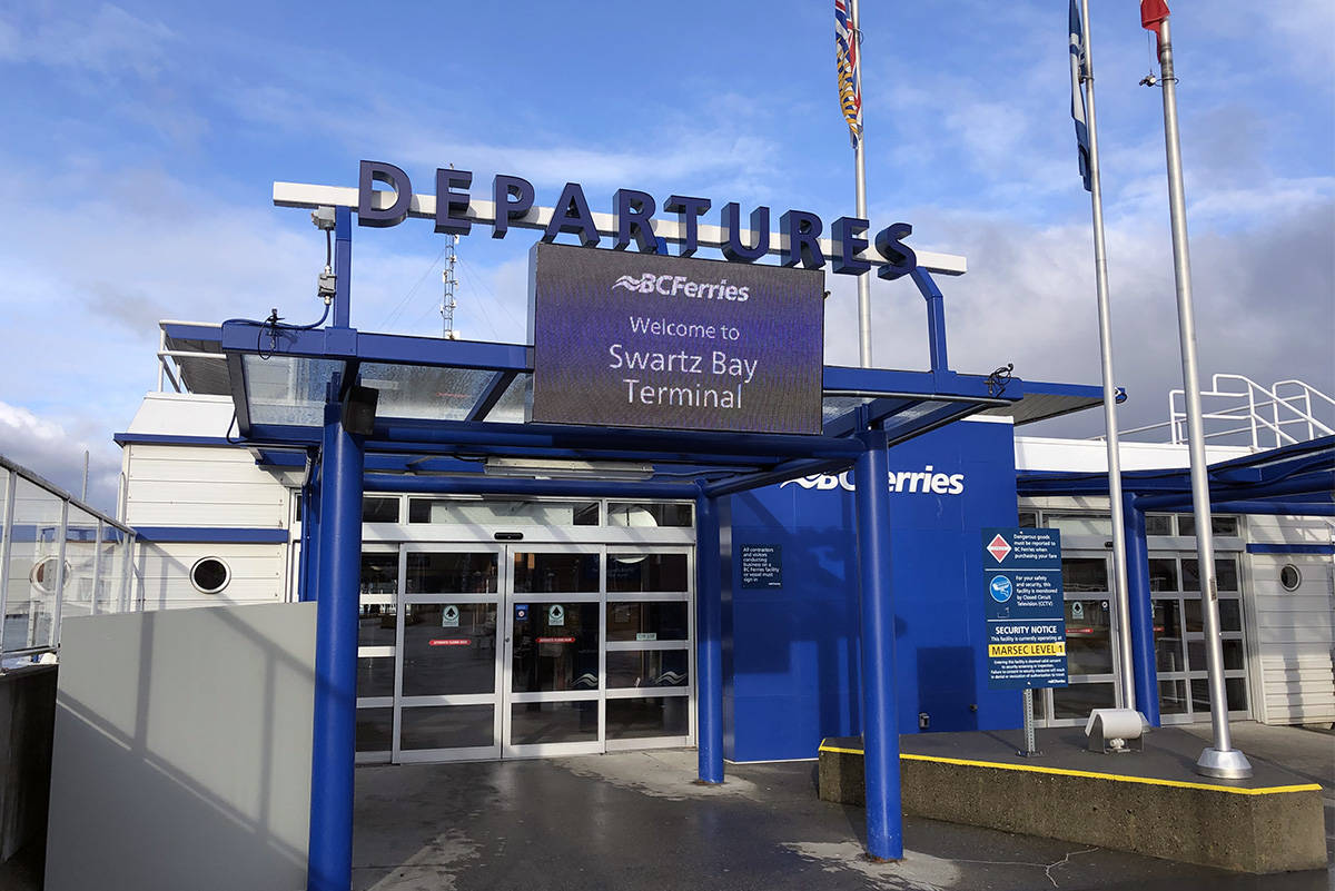 BC Ferries added 171 sailings over the holidays. (Nina Grossman/News Staff)