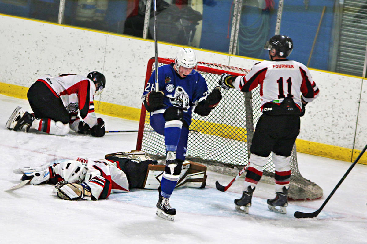"""'Kings for a minute' by Jenna Cocullo with the Northern View. """"It tells the story of hockey. And was taken during Hometown Hockey in Prince Rupert."""""""