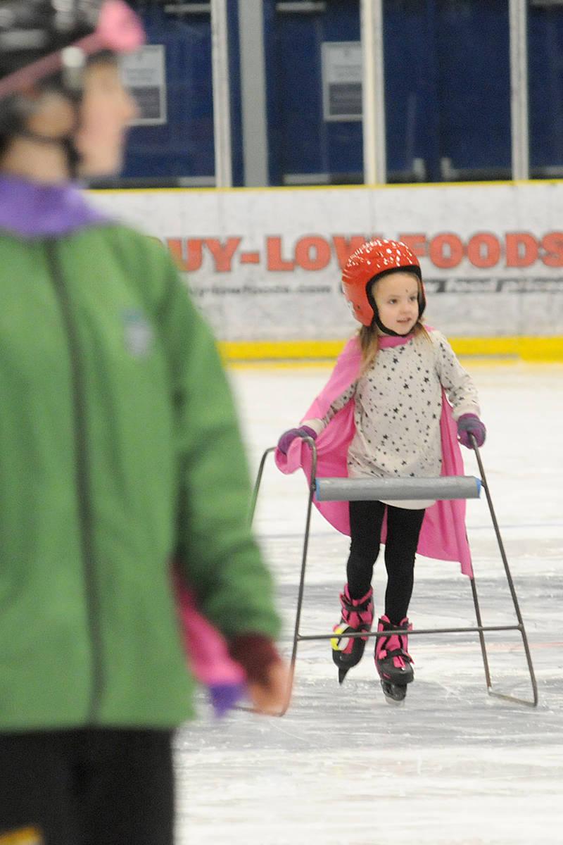 VIDEO: Skating like a superhero at George Preston Recreation Centre