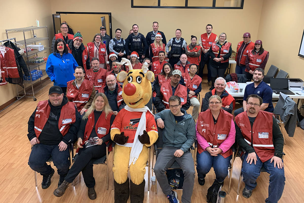 Operation Red Nose Surrey-Langley gave rides for the past month, but does not have enough volunteers to facilitate New Year's Eve. (Michelle Cowan/Special to the Langley Advance Times)