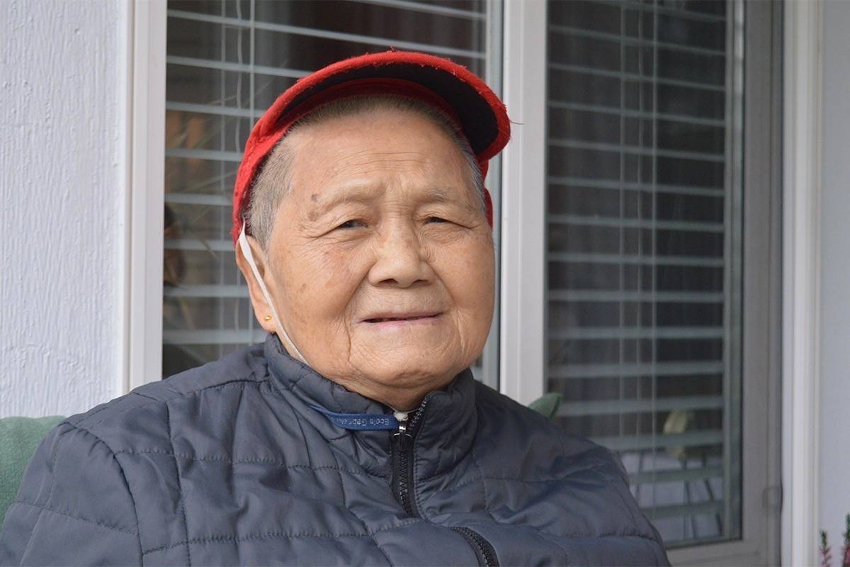 Thieves stole 85-year-old Surrey woman Su Zhen Luo's wheelchair/walker. The disabled woman needed it to get around. (Photo: Tom Zytaruk)