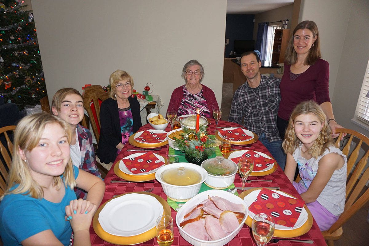 For Langley resident David Nielsen, Christmas is about family, sharing special foods and faith. (David Nielsen photo)