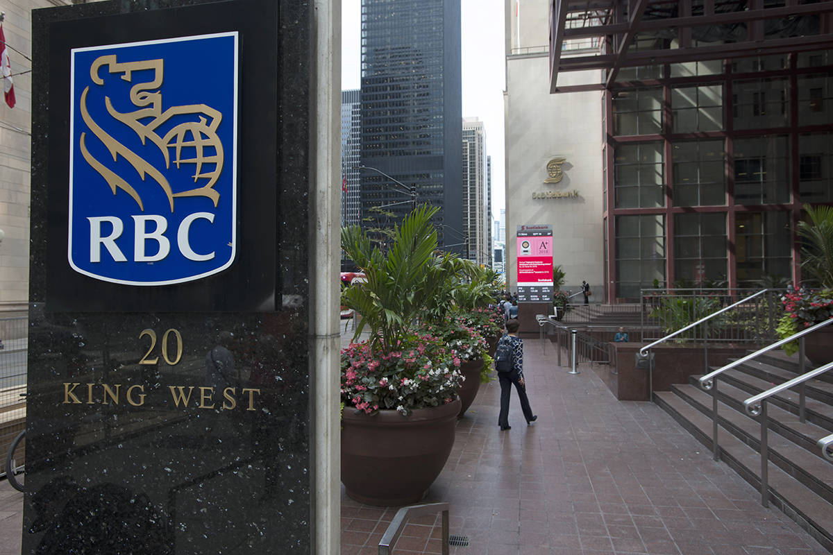 The financial district of Toronto is shown on Wednesday Sept. 18, 2019. A new economic report says the next decade in Canada will increasingly be shaped by the twin forces of climate change and demographic disruption from an aging population. THE CANADIAN PRESS/Doug Ives